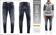 SMK DENIM&Co.: SMK DENIM&Co. | CALÇA SILVER WASH | 69.99€