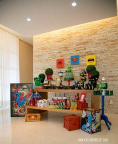 #decor #decoracao #party #festa #locacao #infantil #kids #homemaranha #spider #man #superherois #marvel #dc #batman #superhomem #superman #hulk #diy #ideias #inspiraçao