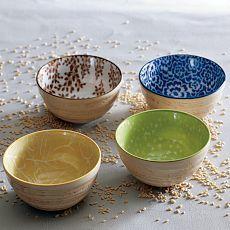 west elm, love a good pottery bowl.