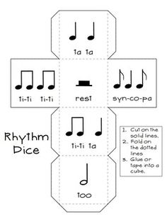 Learn Piano Songs Roll-a-Song Musical Dice Composition:Bundled Set by Cori Bloom Music Lessons For Kids, Music Lesson Plans, Music For Kids, Piano Lessons, Music Activities, Preschool Music, Physical Activities, Music Worksheets, Primary Music