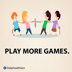 Play more games Play More Games, Band Of Brothers, Calf Muscles, Keep Fit, New Things To Learn, Thought Provoking, Happy Life, Stay Happy, Healthy Life