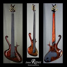 Raptor with Flamed Maple top and Organic Corrosion high gloss finish.