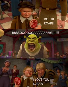 "That 6 year old boy sounded like a grown man talking bout -  ""DO THE ROAR!!!"""