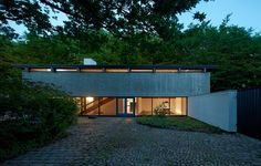Knud Friis (Architect Friis & Moltke) built his own house in Brabrand, Aarhus, Denmark in 1958, extended in 1970.