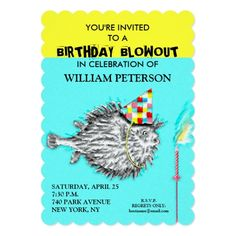 Funny Holy Cow Birthday Party Invite Cow birthday parties Cow