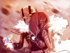 Gztale - Pacifist Ending - Papyrus and Undyne by GolzyBlazey.deviantart.com on…