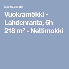 Vuokramökki - Lahdenranta, 6h 218 m² - Nettimokki