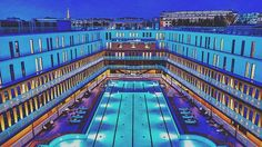 Mgallery Molitor Hotel offers a huge and legendary swimming pool to its clients in http://ift.tt/1TQ3EHb