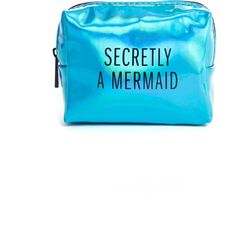 Pinch Provisions Secretly a Mermaid Kit ($24) ❤ liked on Polyvore featuring beauty products and blue