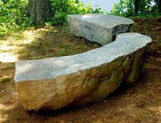 Place stone benches in the shade of a tree.  The rocks stay cool and so will you.
