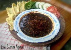 Sambal Petis dg Gorengan Tahu Sambal Sauce, Indonesian Food, Easy Cooking, Gravy, Tofu, Spicy, Food And Drink, Pudding, Eat