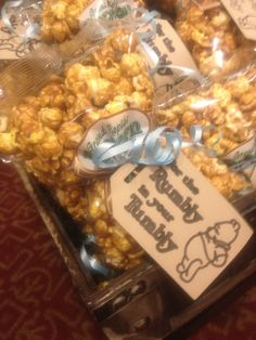 Winnie-the-Pooh Baby Shower Favors