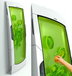 Bio Robot Refrigerator - Yuriy Dmitriev  So Cool - Literally! 2nd Place Imaginative Kitchen Appliance Electrolux Design Lab 2010