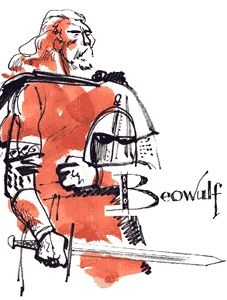 After telling the story of his battles with Grendel and Grendel's mother, Beowulf tells King Hygelac about the feud between Denmark and the Heathobards. Description from csis.pace.edu. I searched for this on bing.com/images