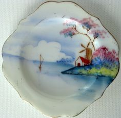 Made in Occupied Japan Miniature Dish