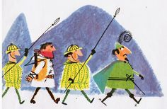 """Pictures from an Old Book: """"The Story Of William Tell"""" By Aliki (First publis..."""