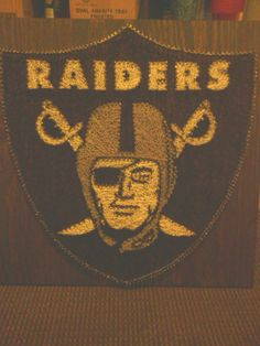 raiders string art