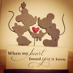 Disney - When my heart found you, it knew.
