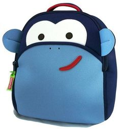 coolest preschool backpacks and bags: Dabbawalla monkey backpack