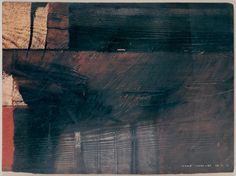 D-9.Mar.1988  mixed media on the wood board   林孝彦 HAYASHI Takahiko 1988