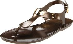 Amazon.com: Michael Michael Kors Women's Plate Jelly Sandal: Shoes