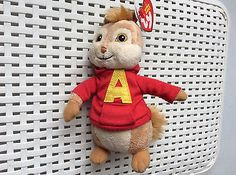 Ty Beanie Babies - Alvin Beanie Baby - Alvin and the Chipmunks