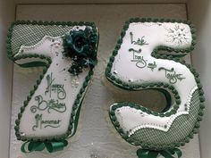 172 Best 75th Birthday Cakes Images In 2019