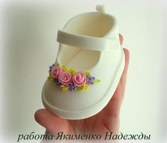 Baby shoes for girls baby shower cake perfect maryjane pattern i could not find a pattern that looked realistic enough for me so i created one i used pastillage but fondant would work as well baby cake created find fondant girls looked maryjane pasti Baby Cakes, Baby Shower Cakes, Baby Shower Cupcakes For Girls, Girl Cakes, Fondant Toppers, Fondant Cupcakes, Fun Cupcakes, Fondant Figures, Fondant Baby Shoes
