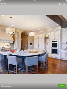 Trendy kitchen island with seating for 3 ceilings 45 ideas Kitchen Island With Seating For 4, Curved Kitchen Island, Kitchen Island Table, Kitchen Peninsula, Kitchen Islands, Kitchen Redo, Home Decor Kitchen, New Kitchen, Home Kitchens