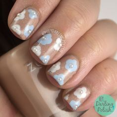 Nailpolis Museum of Nail Art | Bridal Flowers by Marisa  Cavanaugh