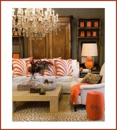 How to successfully liven up your space with color.