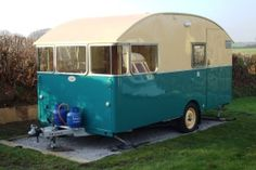 1957 Sprite 14 Caravan
