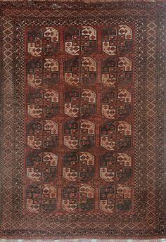 ERSARI FIL-PAYA- 'ELEPHANT FOOT' - AFGHANISTAN          Circa 1920s  Approx. 9ft 1in x 7ft 1in (276.9 x 215.9 cms)