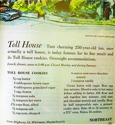 "Original ""Toll House"" cookie recipe"