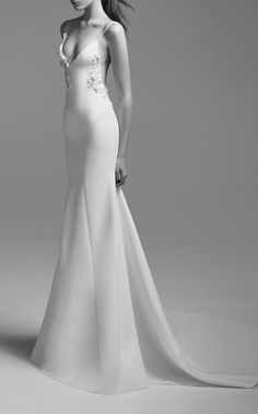 Curated by #JR |Sophia Bikini Embellished Gown by ALEX PERRY BRIDE for Preorder on Moda Operandi