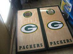 Green Bay Packers Cornhole Boards