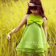 July Collection 2014 Spring Story Clog dress from Bonne Chance. Little Dresses, Little Girl Dresses, Cute Dresses, Girls Dresses, Flower Girl Dresses, Frocks For Girls, Kids Frocks, Little Girl Fashion, Kids Fashion