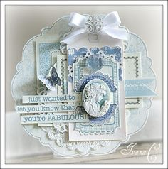 beautiful card by Ivana Camdzic
