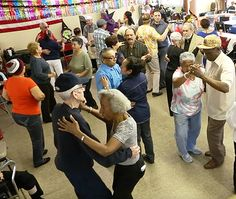 Dancing the Tango at the Brooklyn Public Library in Sunset Park, Brooklyn, New York - How Library Classes in the Arts Are Changing Aging
