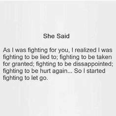 This Is Us Quotes, Sad Quotes, Quote Of The Day, Quotes To Live By, Divorce Mediation, Divorce Papers, Letting Go Quotes, Sharing Quotes, Fight For You