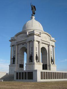 Gettysburg Pennsylvania Memorial--Pennsylvania