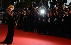 Catwalk stars Cara Delevingne on the 66th Annual Cannes Film Festival 2013