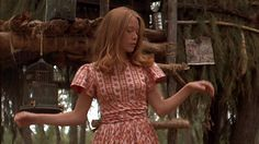 Sissy Spacek, film: Badlands, directed by: Terrence Malick