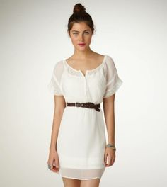 you can never have too many white dresses...