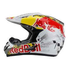 FREE International Shipping + $60 Off when purchasing this helmet. This RED BULL Limited Edition is not only unique but most importantly very compact, comfortable and robust and is made for strength a