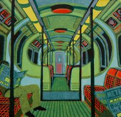 Ealing based gallery showcasing Gail Brodholt artist prints for sale. For Arts Sake specialise in prints by Gail Brodholt and other artists. Linocut Prints, Art Prints, Block Prints, Jackson's Art, A Level Art, Gcse Art, London Art, Wood Engraving, Teaching Art