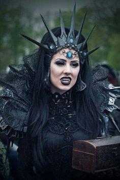 Goth vampire