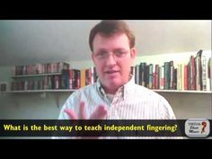 What is the best way to teach independent fingering? - Interview about violin playing