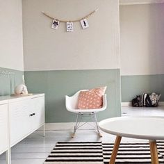 Read 7 Home Decor Hacks We Should Probably Know Already. But we probably don't… See many you know of 7 Home Decor Hacks You Should Probably Know Already. Baby Bedroom, Girls Bedroom, Bedroom Decor, Wall Decor, Bedroom Ideas, Kids Bedroom Paint, Trendy Bedroom, Half Painted Walls, Half Walls