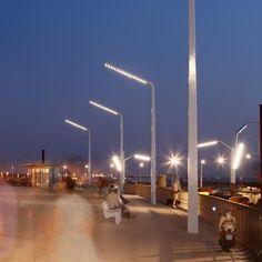 lichtmasten boulevard Scheveningen